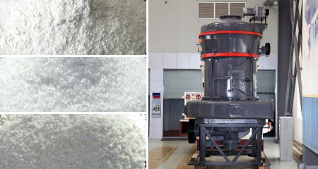 calcium carbonate powder grinding mill